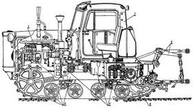 ТНВД ДТ-75 топливный насос высокого давления для дизельного двигателя